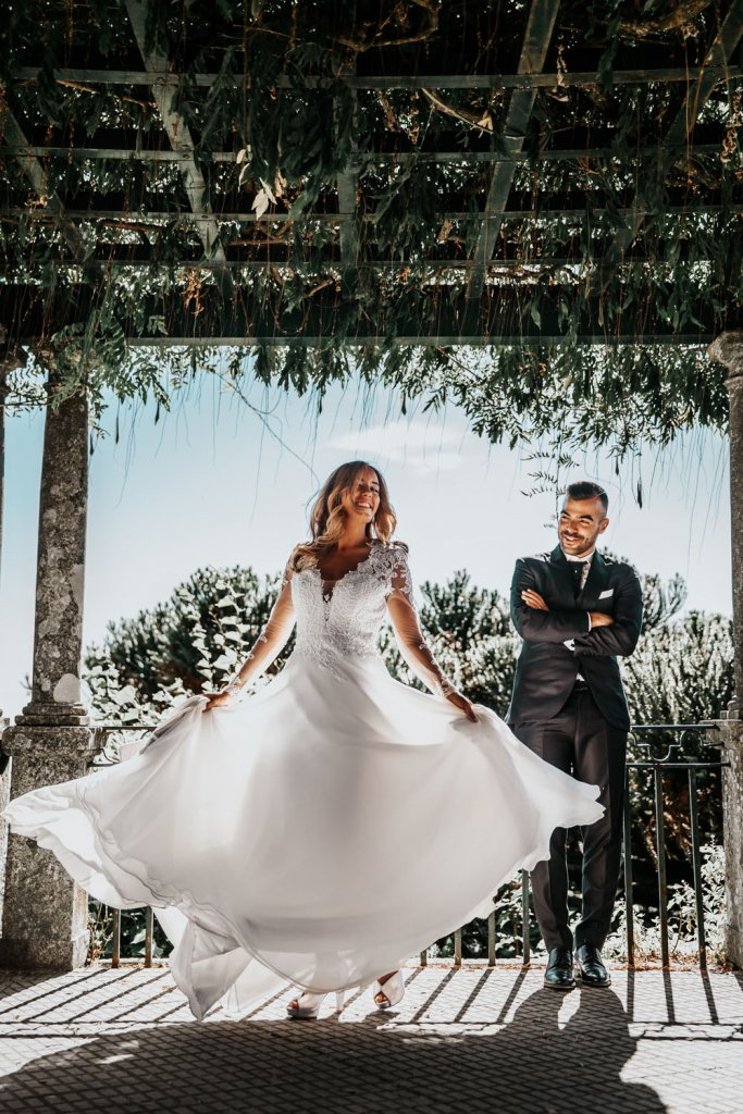 Bride and groom - Hire a small wedding planner