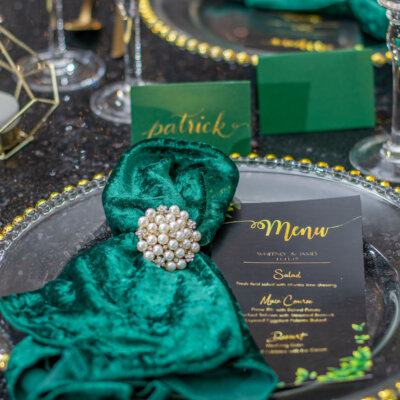 Winter Glam Styled Shoot