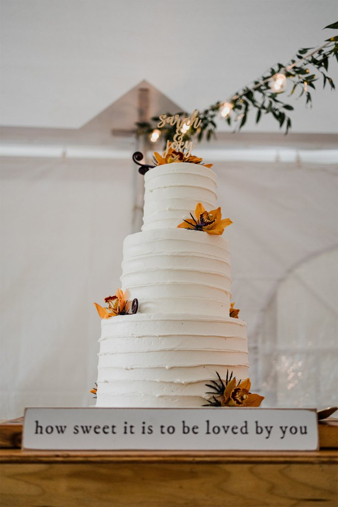 Engagement Party Cake - Share your engagement news by throwing an engagement party! Elegant Events by Michalea, Palm Beach Wedding & Event Coordinator